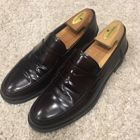 5327a071be44 Prada Shoes | Spazzolato Leather Penny Loafers | Poshmark